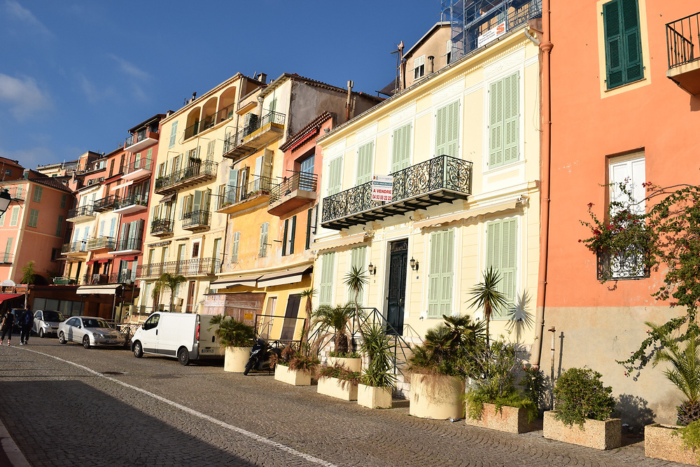 Villefranche, France waterfront, building