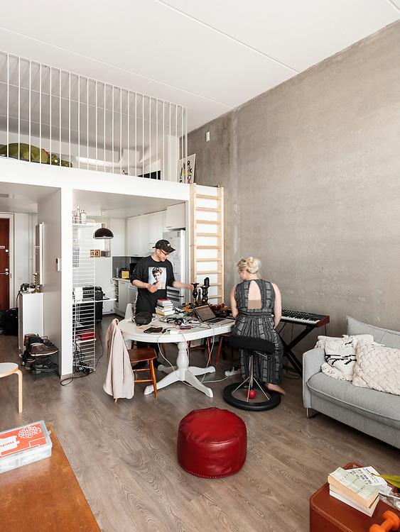 Jallukka – House for Musicians in Jätkäsaari, Helsinki designed by Talli architects.