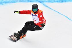 LESLIE John CAN competing in ParaSnowboard, Snowboard Banked Slalom at  the PyeongChang2018 Winter Paralympic Games, South Korea.