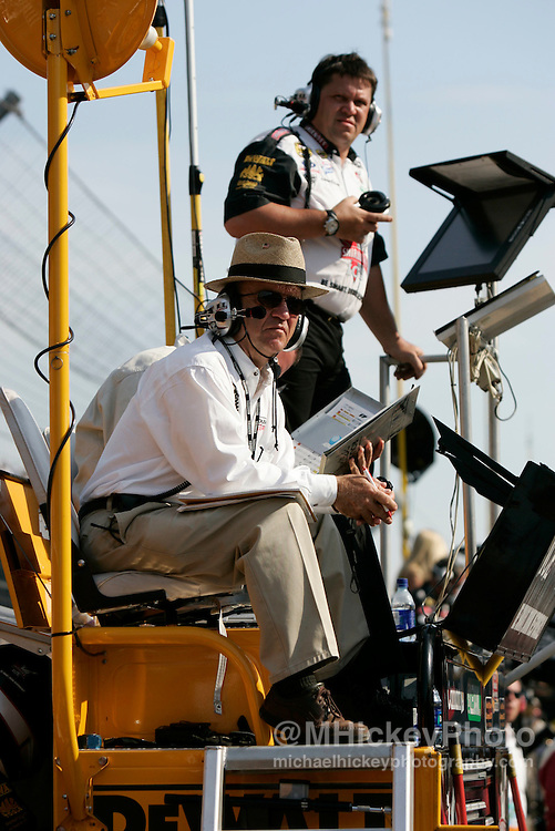 Car owner Jack Roush saw two of his cars finish in the top ten at the Brickyard 400