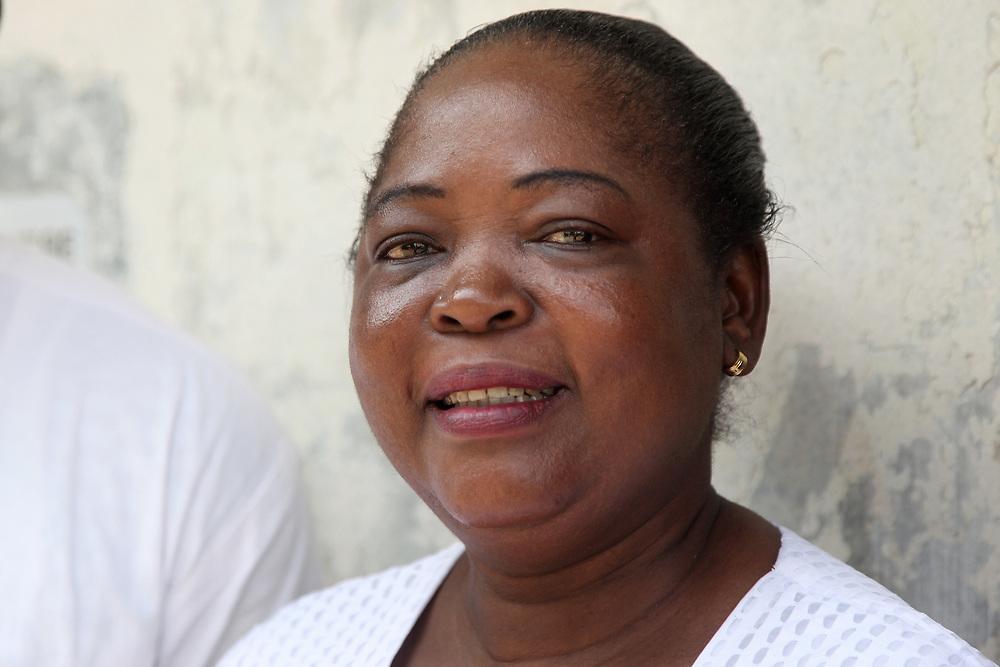 INDIVIDUAL(S) PHOTOGRAPHED: Bridget Agede. LOCATION: Epko Abasi Clinic, Calabar, Cross River, Nigeria. CAPTION: Portrait of the Director of Epko Abasi Clinic.