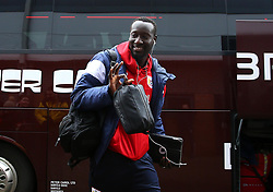 Famara Diedhiou of Bristol City arrives at The Pirelli Stadium for the Sky Bet Championship match with Burton Albion - Mandatory by-line: Robbie Stephenson/JMP - 10/03/2018 - FOOTBALL - Pirelli Stadium - Burton upon Trent, England - Burton Albion v Bristol City - Sky Bet Championship