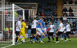 Frankie Kent of Peterborough United scores the second goal of the game against Dover Athletic - Mandatory by-line: Joe Dent/JMP - 01/12/2019 - FOOTBALL - Weston Homes Stadium - Peterborough, England - Peterborough United v Dover Athletic - Emirates FA Cup second round