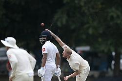 November 2, 2018 - Colombo, Sri Lanka - England cricketer Ben Stokes delivers a ball  during the match between Sri Lanka Board XI and England at the CCC ground, Colombo, Sri Lanka. Friday 2 , November 2018  (Credit Image: © Tharaka Basnayaka/NurPhoto via ZUMA Press)