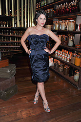 SADIE FROST at a dinner to celebrate the beginning of a unique partnership between The Naked Heart Foundation and W's Newest Hotel W St.Petersburg -The 'For Russia With Love' dinner was hosted by Sadie Frost and Natalia Vodianova at Spice Market restaurant, W London, Leicester Square, London on 2nd June 2011.