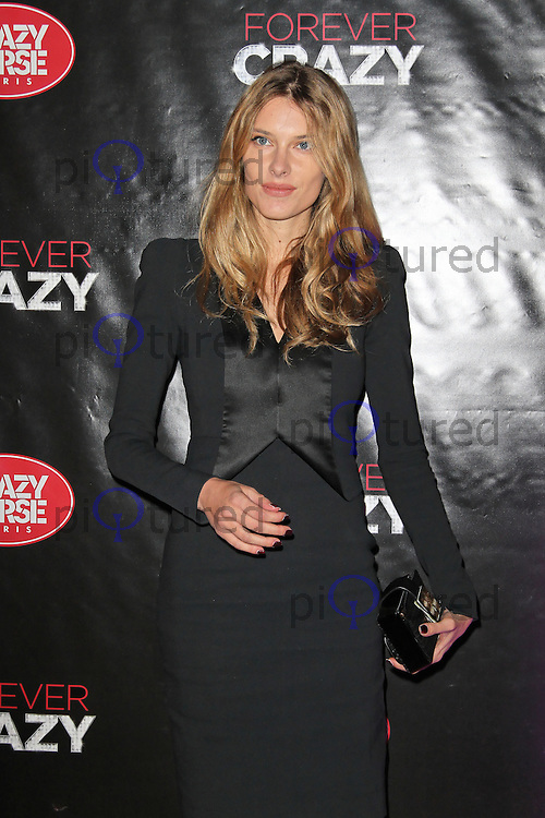LONDON - SEPTEMBER 19: Sara Brajovic attended the premiere of 'Crazy Horse Presents Forever Crazy' at The Crazy Horse, London, UK. September 19, 2012. (Photo by Richard Goldschmidt)