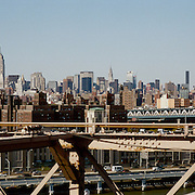 A panoramic view of New York City, USA. 23rd July 2011. Photo Tim Clayton