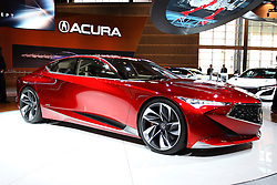 11 February 2016: Acura Precision.<br />