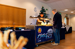 A general view of the Estuary Suite with Christmas Decorations prior to kick off - Mandatory by-line: Ryan Hiscott/JMP - 30/11/2019 - RUGBY - Sandy Park - Exeter, England - Exeter Chiefs v Wasps - Gallagher Premiership Rugby