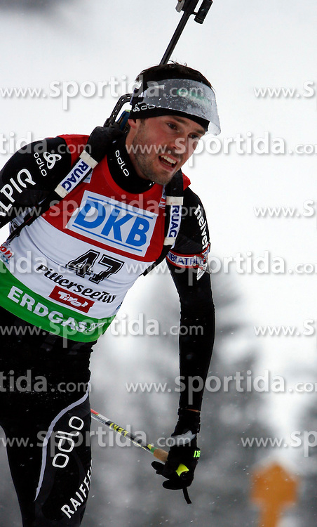 15.12.2011, Biathlonzentrum, Hochfilzen, AUT, E.ON IBU Weltcup, 3. Biathlon, Hochfilzen, Sprint Maenner, im Bild Ivan Joller (SUI) // during Sprint men E.ON IBU World Cup 3th Biathlon, Hochfilzen, Austria on 2011/12/15. EXPA Pictures © 2011, PhotoCredit: EXPA/ Oskar Hoeher