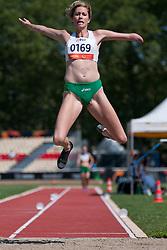 BEATTIE Carlee, AUS, Long Jump, T46, 2013 IPC Athletics World Championships, Lyon, France