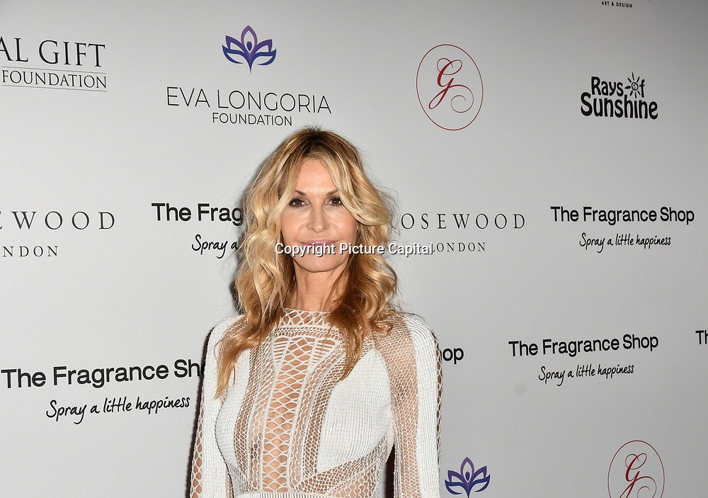 Melissa Odabash Arrivers at The Global Gift Gala red carpet - Eva Longoria hosts annual fundraiser in aid of Rays Of Sunshine, Eva Longoria Foundation and Global Gift Foundation on 2 November 2018 at The Rosewood Hotel, London, UK. Credit: Picture Capital