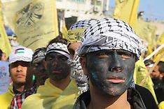 JAN 4 2013 GAZA - Fatah movement