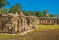elephant terrace Angkor Thom Cambodia