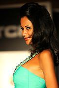Uitreiking van de Dutch Model Awards  in Hotel Okura Amsterdam.<br /> <br /> Op de foto: Manuela Loth winnaares Dutch Model Awards categorie Catwalk