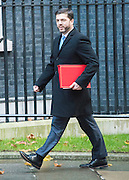© Licensed to London News Pictures. 18/11/2014. Westminster, UK. Welsh Secretary Stephen Crabb. Ministers and MP's on Downing Street 18th November 2014. Photo credit : Stephen Simpson/LNP