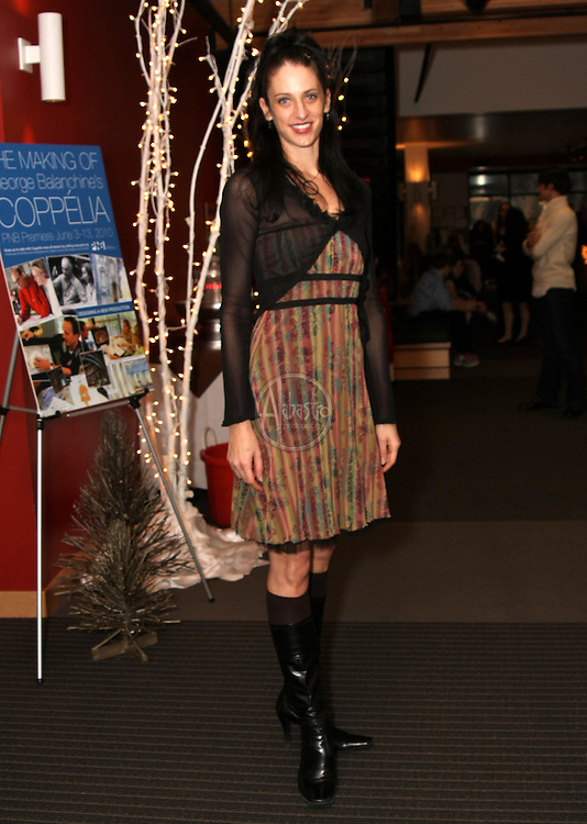 PNB's principal dancer Ariana Lallone at the Winter Wonderland Ball 2010.