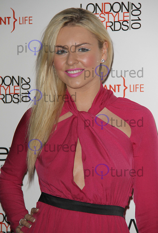 Zoe Salmon London Lifestyle Awards, Park Plaza Riverbank Hotel, London, UK, 07 October 2010: For piQtured Sales contact: Ian@Piqtured.com +44(0)791 626 2580 (picture by Richard Goldschmidt)