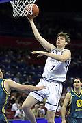 Giochi Olimpici Sydney 2000<br /> Italia-Australia<br /> Nella foto: Gregor Fucka<br /> Foto Ciamillo