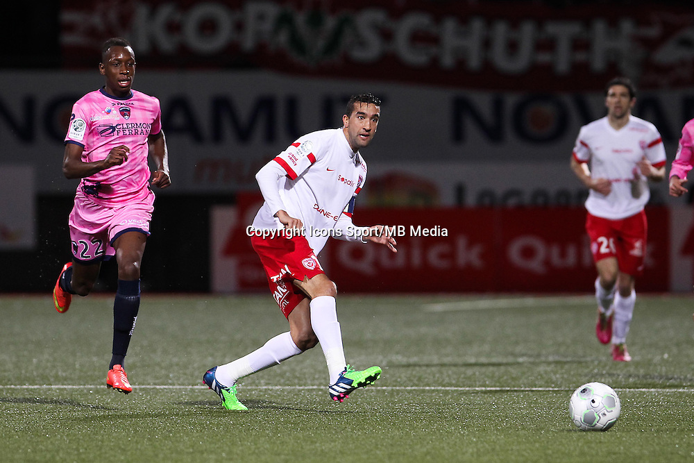 Youssouf HADJI - 19.12.2014 - Nancy / Clermont - 18e journee Ligue 2<br />