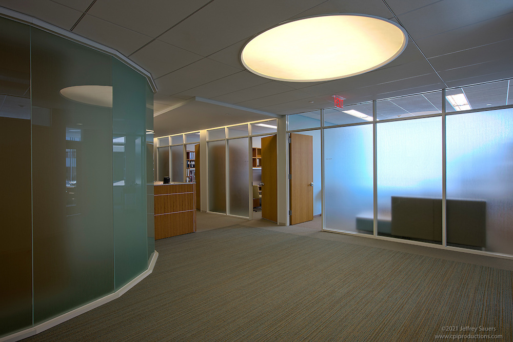 Architectural Interior Of Washington DC Law Firm Paul Weiss By Jeffrey Sauers Commercial Photographics
