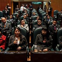 TOLUCA, México.- 75 estudiantes de nivel medio superior acudieron este día a la Cámara de Diputados para participar en el Parlamento Juvenil 2011 en su segunda edición, en donde debatieron sobre temas que se discuten actualmente en la LVII Legislatura Local. Agencia MVT / Crisanta Espinosa. (DIGITAL)