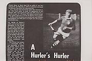 A Hurler's Hurler,