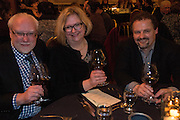 Cole Danehower at the 2015 Truffle Festival dinner with his wife Andrea Danehower and Dr. Charles K. Lefevre, Oregon