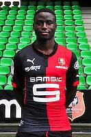 Paul Georges NTEP - 15.09.2014 - Photo officielle Rennes - Ligue 1 2014/2015<br /> Photo : Philippe Le Brech / Icon Sport