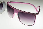 Cutout of Sunglasses on white background