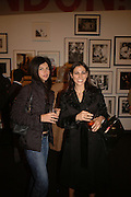 DINA BRANDT AND MARCIA MOURADIAN, Opening of Photo-London, Burlington Gdns. London. 17 May 2006. ONE TIME USE ONLY - DO NOT ARCHIVE  © Copyright Photograph by Dafydd Jones 66 Stockwell Park Rd. London SW9 0DA Tel 020 7733 0108 www.dafjones.com