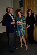 PROF. DR. JOHANNES MUHLENBURG; PETRONELLA WYATT, Book launch for the book by Julian Fellowes 'Past Imperfect.' Cadogan Hall. Sloane Terrace. London. 4 November 2008 *** Local Caption *** -DO NOT ARCHIVE -Copyright Photograph by Dafydd Jones. 248 Clapham Rd. London SW9 0PZ. Tel 0207 820 0771. www.dafjones.com