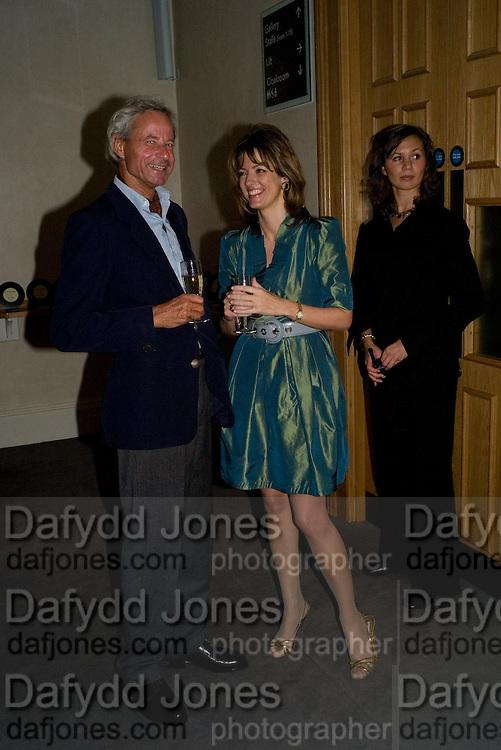PROF. DR. JOHANNES MUHLENBURG; PETRONELLA WYATT, Book launch for the book by Julian Fellowes 'Past Imperfect.' Cadogan Hall. Sloane Terrace. London. 4 November 2008 *** Local Caption *** -DO NOT ARCHIVE -Copyright Photograph by Dafydd Jones. 248 Clapham Rd. London SW9 0PZ. Tel 0207 820 0771. www.dafjones.com