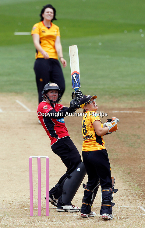 Canterbury Magicians Maria Fahey, Action Cricket Twenty20 Final, Blaze v Magicians. Basin Reserve, Wellington. Saturday 5 February 2011. Photo: Anthony Phelps/PHOTOSPORT
