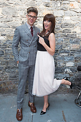Repro Free: 11/09/2014<br /> Darren Kennedy and Jennifer McGuire pictured at the RT&Eacute; Two New Season Launch in Gateway House, Capel Street. Picture Andres Poveda