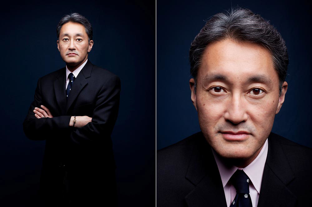KAZUO HIRAI / CEO and president of Sony Corp. for The Wall Street Journal