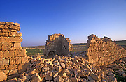 The ruins of Haluza also known as Al-Khalasa, Halasa, Chellous, Elusa, al-Khalasa and al-Khaluṣ, was a city in the Negev near present-day Kibbutz Mash'abei Sadeh that was once part of the Nabataean Incense Route. It lay on the route from Gaza to Petra.