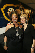 l to r: Leela James and Jill Newman at Leela James Produced by Jill Newman Productions held at BB KINGS on December 30, 2008 in New York City..