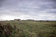 © Licensed to London News Pictures. 22/10/2017. Bawdsey, UK.  RAF Bawdsey, WW2 radar and Cold-War Bloodhound Surface to Air Missile (SAM) base at Bawdsey Ferry, Suffolk, today 22nd October 2017. The base was decommissioned in 1991 leaving behind a deserted base.  Photo credit: Stephen Simpson/LNP