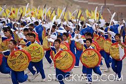 chinese boy warriors
