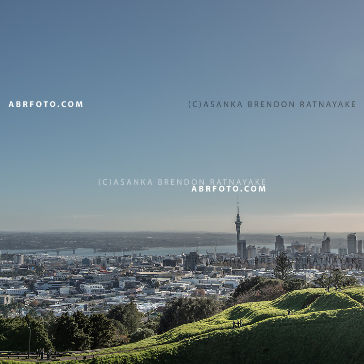 A general view of Auckland city viewed from Mount Eden on the 7th of June 2018. Asanka Brendon Ratnayake for The New York Times.