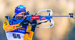15.01.2020, Chiemgau Arena, Ruhpolding, GER, IBU Weltcup Biathlon, Sprint, Damen, im Bild Vanessa Hinz (GER) // Vanessa Hinz of Germany during the women sprint competition of BMW IBU Biathlon World Cup at the Chiemgau Arena in Ruhpolding, Germany on 2020/01/15. EXPA Pictures © 2020, PhotoCredit: EXPA/ Stefan Adelsberger