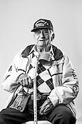 Ricardo Russo<br /> Army<br /> E-5<br /> Radio Operator<br /> 1941 - 1947<br /> WWII<br /> <br /> Veterans Portrait Project<br /> Springfield, MA