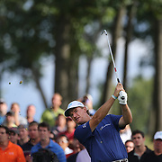 Ernie Els in action during the third round of theThe Barclays Golf Tournament at The Ridgewood Country Club, Paramus, New Jersey, USA. 23rd August 2014. Photo Tim Clayton