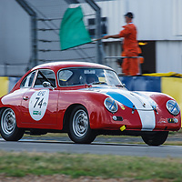 #74, PORSCHE 356 A 1958, grid 3, drivers: M. SUCARI / A. SUCAR, on 06/07/2018 at the 24H of Le Mans, 2018