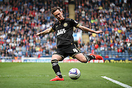 Wigan Athletic&rsquo;s Josh McEachran in action. Skybet football league championship match, Blackburn Rovers v Wigan Athletic at Ewood Park in Blackburn, England on Saturday 3rd May 2014.<br /> pic by Chris Stading, Andrew Orchard sports photography.