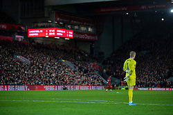 LIVERPOOL, ENGLAND - Sunday, January 5, 2020: Everton's goalkeeper Jordan Pickford looks dejected as his side lose 1-0 during the FA Cup 3rd Round match between Liverpool FC and Everton FC, the 235th Merseyside Derby, at Anfield. (Pic by David Rawcliffe/Propaganda)