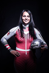 12.10.2019, Olympiahalle, Innsbruck, AUT, FIS Weltcup Ski Alpin, im Bild Franziska Gritsch // during Outfitting of the Ski Austria Winter Collection and the official Austrian Ski Federation 2019/ 2020 Portrait Session at the Olympiahalle in Innsbruck, Austria on 2019/10/12. EXPA Pictures © 2020, PhotoCredit: EXPA/ JFK