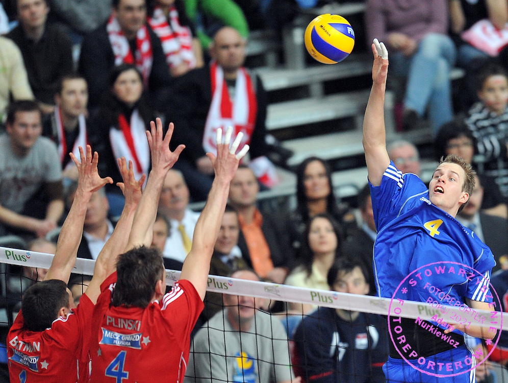 GUILLAUME SAMICA ( FORINGNERS ) DURING ALL STAR GAME VOLLEYBALL POLISH EXTRALEAGUE POLISH PLAYERS VS FORIGNERS IN ARENA URSYNOW HALL IN WARSAW, POLAND...POLAND , WARSAW , JANUARY 17, 2009..( PHOTO BY ADAM NURKIEWICZ / MEDIASPORT )..PICTURE ALSO AVAIBLE IN HI-RES TIFF FORMAT ON SPECIAL REQUEST.