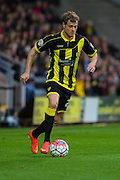 Burton Albion forward Timmy Thiele on the ball during the The FA Cup match between Burton Albion and Peterborough United at the Pirelli Stadium, Burton upon Trent, England on 7 November 2015. Photo by Aaron Lupton.